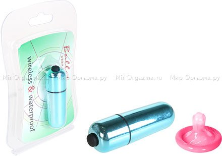 Мини-вибратор водонепроницаемый Bullet, фото 2