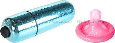 Мини-вибратор водонепроницаемый Bullet