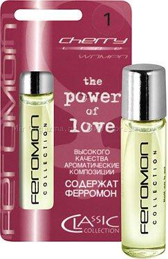 Духи с ферромонами женские серии cherry аромат pleasure