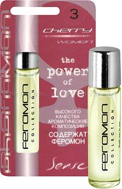 Духи с ферромонами женские серии cherry аромат miracle
