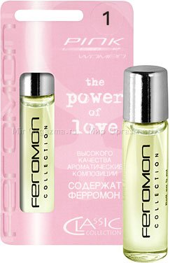 Духи с ферромонами женские серии pink аромат j'adore dior