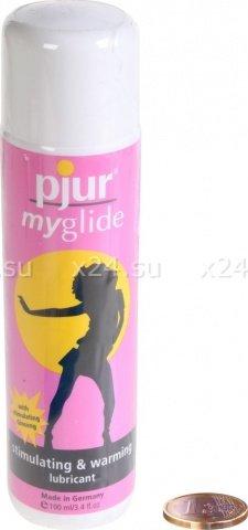 Стимулирующий лубрикант для женщин pjur myglide 100 ml