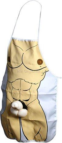 Фартук Мужское тело с шалун