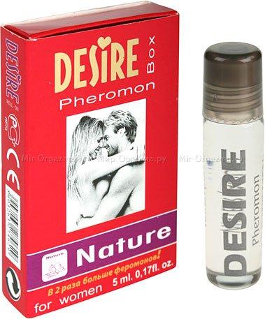 Духи с феромонами женские desire nature, desire nature№3