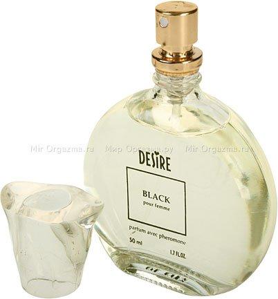 Духи с феромонами для женщин с темными волосами, Desire Black