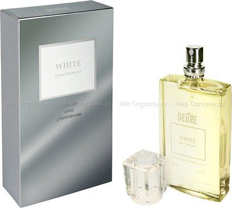 Духи с феромонами для мужчин со светлыми волосами, Desire White, фото 2