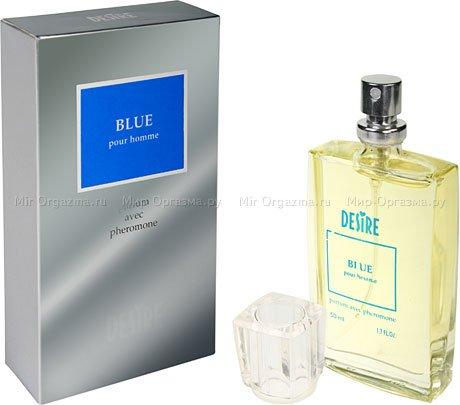 Духи с феромонами для мужчин со светлыми волосами, Desire Blue, фото 2