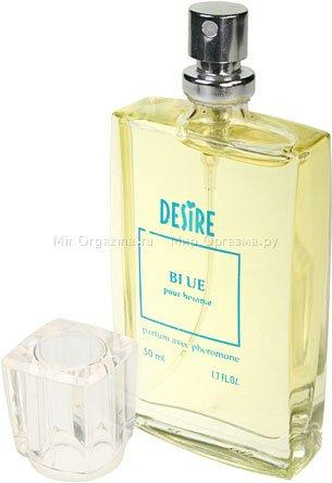 Духи с феромонами для мужчин со светлыми волосами, Desire Blue