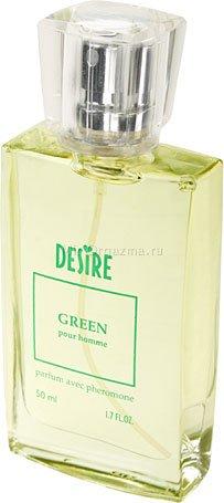 Духи с феромонами для мужчин со светлыми волосами, Desire Green, фото 3