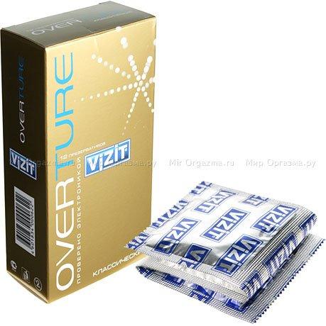 Презервативы vizit overture классический 12 шт