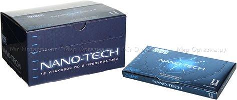 Презервативы vizit nano-tech полиуретановые 2 шт