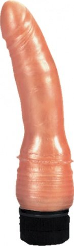 Вибратор Pearl Shine с юбочкой 17,5 см, фото 3