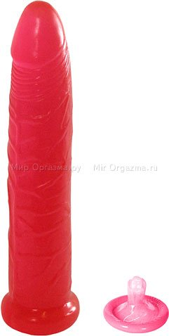 Фаллоимитатор гелевый The easy fighter 16,5 см