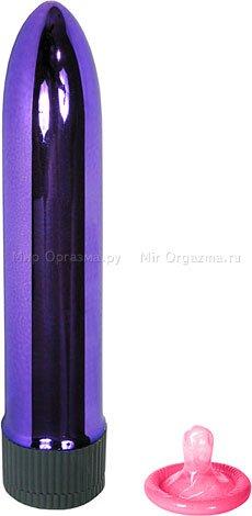 Вибратор фиолетовый 12,7 см