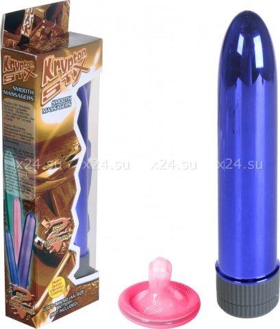 Вибратор фиолетовый 12,7 см, фото 3