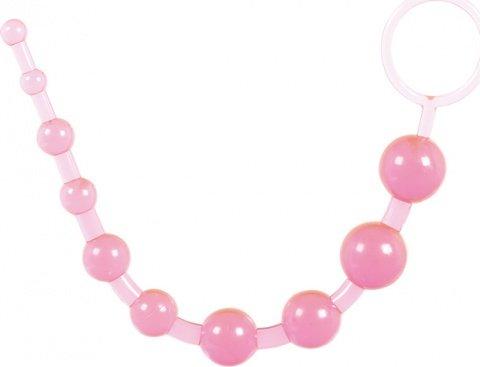 Анальные шарики Oriental Jelly Butt Beads 26,7 см, фото 6