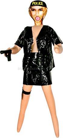 Кукла женщина-полицейский topcop chicago sheila 2d-1664nmc