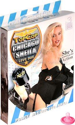 Кукла женщина-полицейский topcop chicago sheila 2d-1664nmc, фото 4
