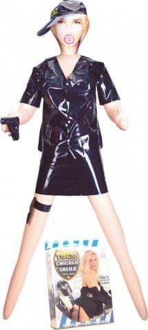 Кукла женщина-полицейский topcop chicago sheila 2d-1664nmc, фото 5