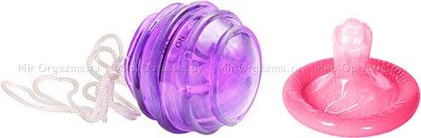 Шарик с вибрацией Space Balls, фиолетовый