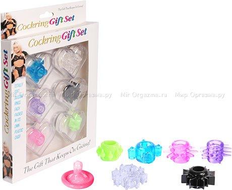 Набор эрекционных колец Cockring Gift Set, фото 2