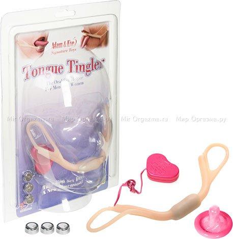 Вибратор для орального секса и ласк тела Tongue tingler, фото 2